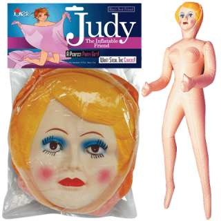 BLOW UP DOLL GIRL FEMALE JUDY INFLATABLE BACHELORETTE BACHELOR PARTY