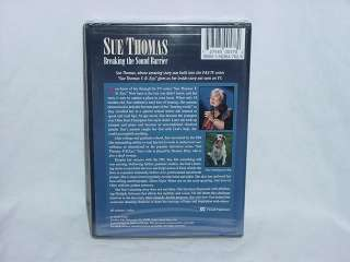 Sue Thomas Breaking The Sound Barrier NEW DVD Christian |
