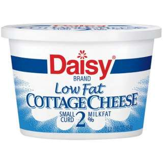 Daisy Low Fat 2% Milkfat Small Curd Cottage Cheese, 16 oz