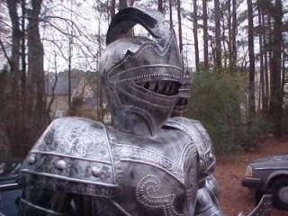 Foot Suit of Armor Medieval Knight   Armor   Heavenly Swords