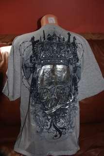 Men MMA UFC Mark Ecko Unltd Majesty Slayer T Shirt M
