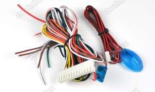 Set Kit Universal Car Remote Central Lock Locking Keyless Entry System