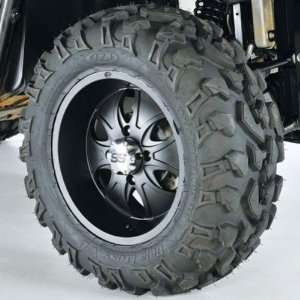 System 6, Tire/Wheel Kit   26x10Rx14   Matte Black 44328L Automotive