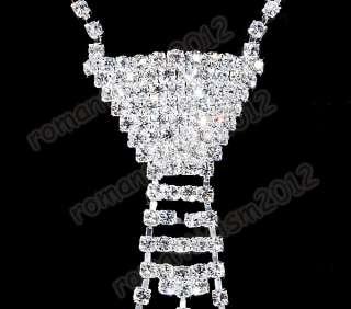 Party Bling Bling/Unisex Rhinestone Crystal Neck Tie