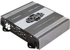 1200 Watt 2 Channel Bridgeable Car Audio Amplifier + Amp Wire Kit