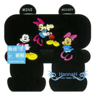 10pcs Mickey & Minnie Mouse CAR SEAT COVERS FA139 270