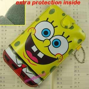 Iphone Cell Phone  Mp4 Bag Pouch Case Sponge Bob  L
