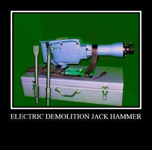 Electric Demolition Jack Hammer Concrete Breaker Tools