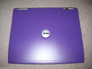 Purple DELL LATITUDE D610 DVD P4 M 1GB 60 WiFi LAPTOP 7
