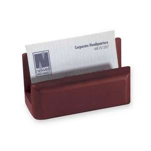 Rolodex Rol 23330 Wood Tones Business Card Holder   Wood   1 Each