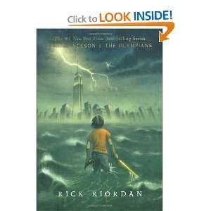 Percy Jackson and the Olympians Paperback Boxed Set (Books