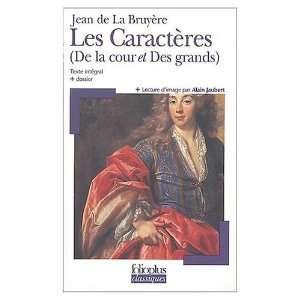 ) (9780685342275): Jean De La Bruyere, Jean De La Bruyere: Books