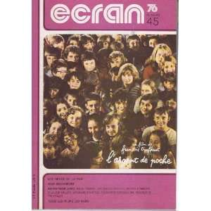 ecran n° 45/ les dents de la pub jean rochefort : collectif: Books