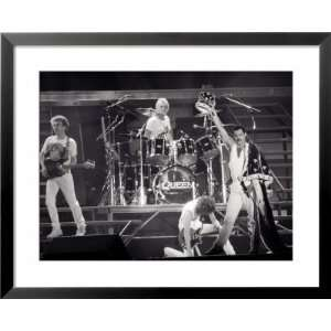 Queen, Freddie Mercury, Brian May, John Deacon & Roger