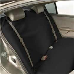Bergan Rear Seat Protector Cover For Car Black Pet Dog
