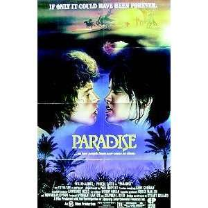 PARADISE PHOEBE CATES WILLIE AAMES 27X41 ORIGINAL MOVIE