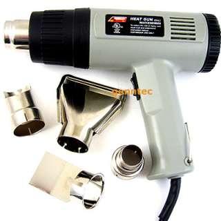 Electric Heat Gun 2 Speed 6FT Cord Soften Strip UL HOT