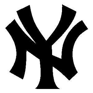 New York Yankees Logo 10 Auto Car Window Sticker Decal