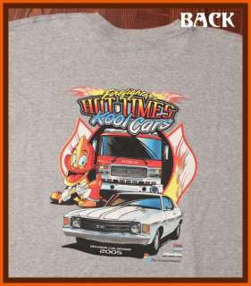 Hot Times Cool Cars Fire Rescue Department EMS T Shirt XXL