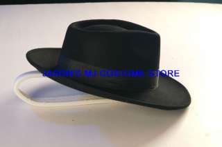WOWMICHAEL JACKSON BILLIE JEAN BLACK HAT Professional