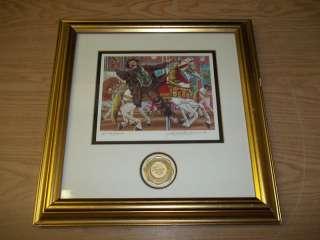 Stanton Arts Signed Numbered Emmett Kelly Clown Prints