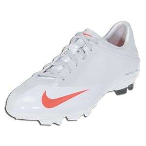 Veloci V FG   Metallic Platinum/Hot Red/White/Max Orange  SOCCER