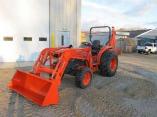 2005 KUBOTA L5030 4X4 TRACTOR LOADER BACKHOE, 300 HOURS