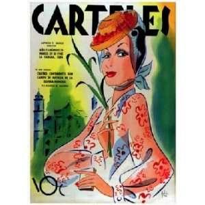 Carteles Magazine Cover: Girl and Sugar cane: Home