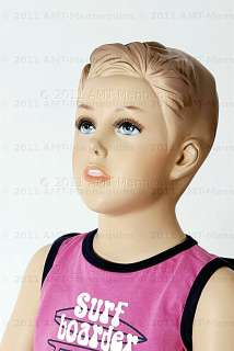 Child mannequin brand new Sitting manikin boy   Don +1Pedestal