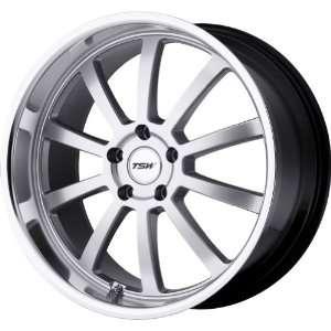 TSW Alloy Wheels Willow Hyper Silver Machined Wheel (18x8