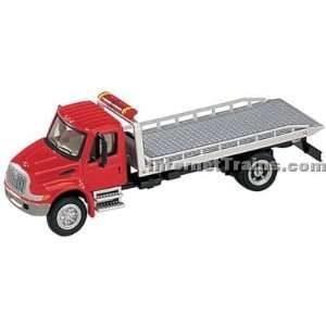 Boley HO Scale International 4300 2 Axle Roll On/Off Tow Truck