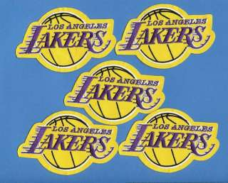 Lot Los Angeles Lakers NBA Basketball Patches Crests