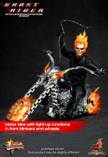 HOT TOYS GHOST RIDER JOHNNY BLAZE NICOLAS HELLCYCLE NOW