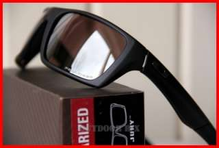 NEW OAKLEY JURY POLARIZED SUNGLASSES Black / OO Black Polarized
