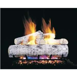 Peterson Real Fyre 30 Inch White Birch Vented Propane Gas Log Set W