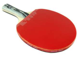 2PCS DHS Ping Pong Paddle HURRICANE Ⅲ 5 Star Table Tennis Racket