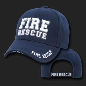 FIRE RESCUE NAVY BLUE HAT CAP UNIFORM HATS