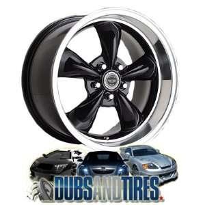 Racing wheels wheels TORQ THRUST M Gloss Black w/ Machined Lip wheels