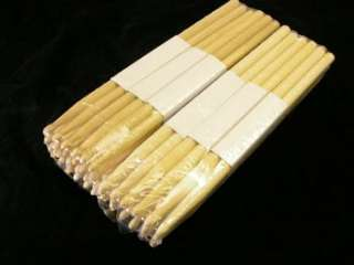 24 PAIR PRO 2A MAPLE DRUM STICKS DRUMSTICKS WOOD TIP