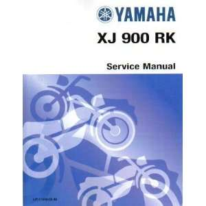 1983 Yamaha XJ900RK Seca Factory Service Manual Yamaha Motors Books