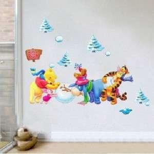 Cute Disney Winnie Pooh & Friends Wall Decor stickers