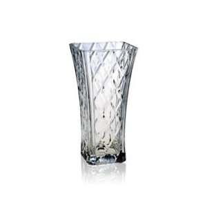 Mikasa Crystal Diamond Sparkle Flower Vase
