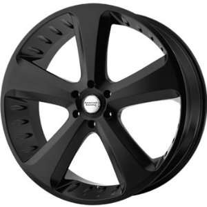 American Racing Vintage Circuit 18x8 Black Wheel / Rim 5x150 with a